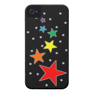 Rainbow Stars Case-Mate iPhone 4 Case
