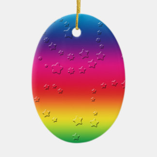 Rainbow Stars Ornament