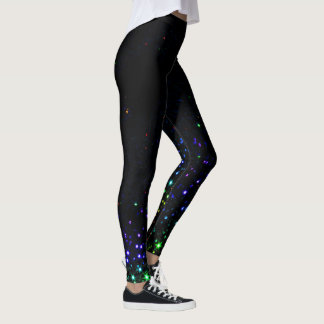 Rainbow Stars Leggings
