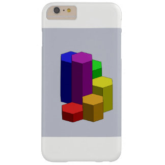 Rainbow Steps CAD Barely There iPhone 6 Plus Case