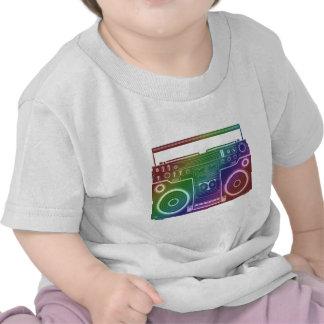Rainbow Stereo T Shirt