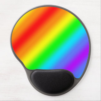 Rainbow Stripe Gel Mouse Pad