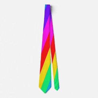 Rainbow Stripe Pattern Tie