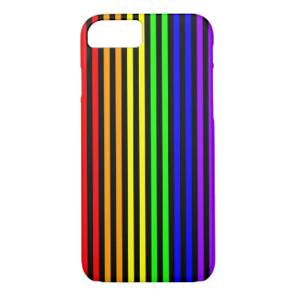 Rainbow Striped iPhone 7 Case