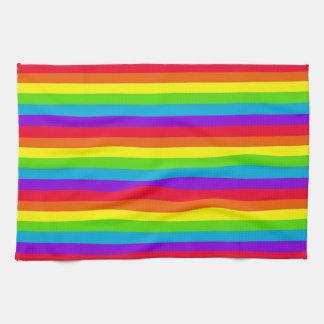 Rainbow Striped Kitchen/Hand Towel