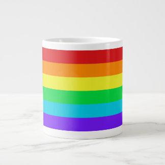 Rainbow Stripes 1 Jumbo Mug