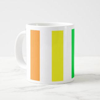 Rainbow Stripes 4 Jumbo Mug