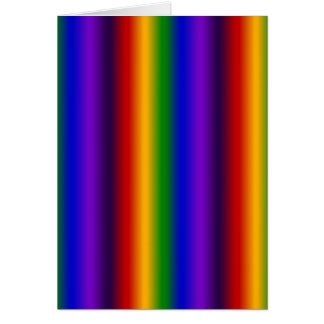 Rainbow Stripes Abstract Blur Colorful Gifts Greeting Cards