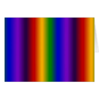 Rainbow Stripes Abstract Blur Colorful Gifts Note Card