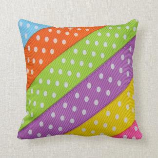 Rainbow Stripes American Mojo Pillow