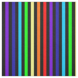Rainbow Stripes Fabric
