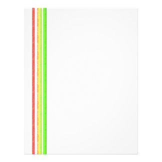 rainbow stripes flyer