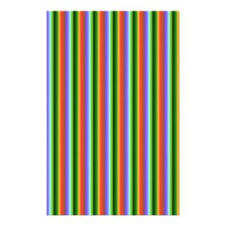 Rainbow Stripes. Fun Multi-color Pattern. Flyers