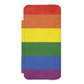 Rainbow stripes incipio watson™ iPhone 5 wallet case