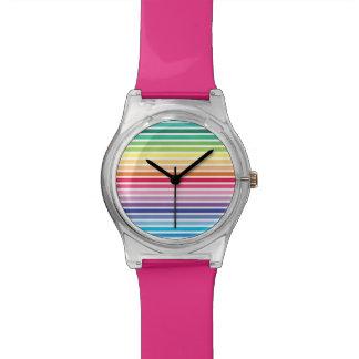 Rainbow Stripes May28th Watch