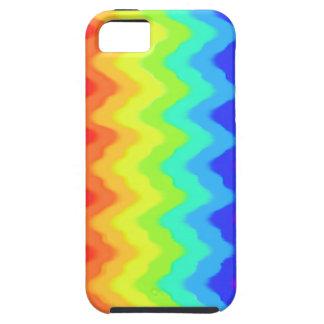 rainbow stripes monogaraph iphone5 case
