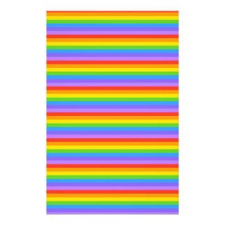 Rainbow Stripes Pattern. Flyer Design