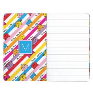 Rainbow Stripes Pattern | Monogram Journal