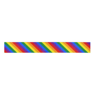 Rainbow Stripes Ribbon Grosgrain Ribbon