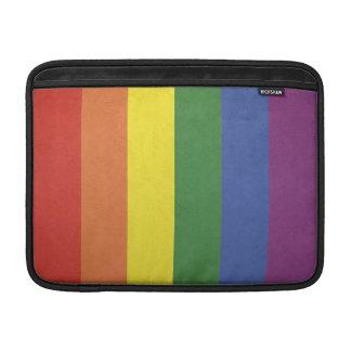 Rainbow stripes sleeve for MacBook air