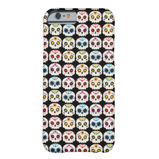 Rainbow Sugar Skull Barely There iPhone 6 Case