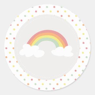 Rainbow & Sunshine Sticker Sticker