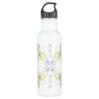 Rainbow Swirl 710 Ml Water Bottle