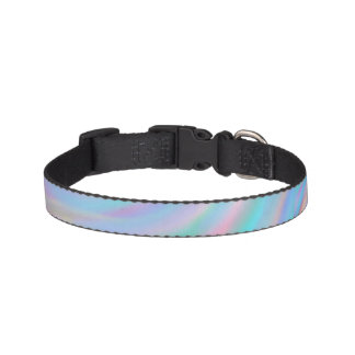 Rainbow Swirl Dog Collar
