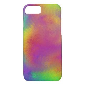 Rainbow swirl phone cover