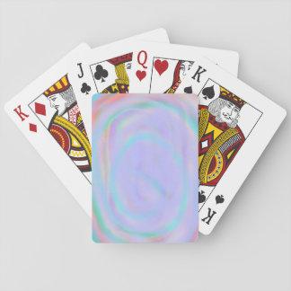 Rainbow Swirl Playing Card Deck