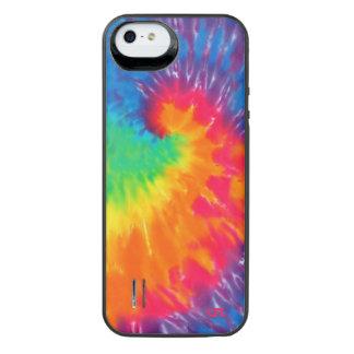 Rainbow Swirl Tie Dye iPhone SE/5/5s Battery Case