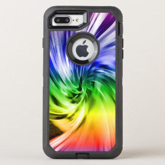 RAINBOW SWIRLS IPHONE OtterBox DEFENDER iPhone 7 PLUS CASE