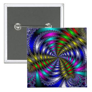 Rainbow Swirly Buttons