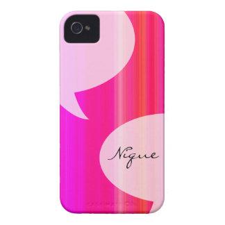 Rainbow Talk Bubble Case-Mate iPhone 4 Cases