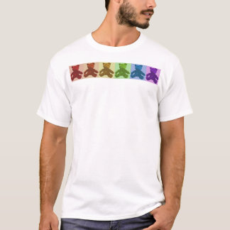 Rainbow Teddy Bears T-Shirt