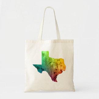 Rainbow Texas Pride tote Budget Tote Bag