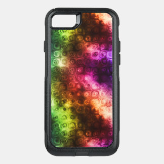 Rainbow Texture OtterBox Commuter iPhone 8/7 Case