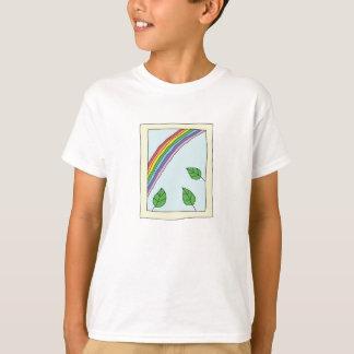rainbow through the Window T-Shirt for Kids