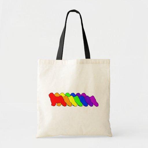 Rainbow Tibetan Tote Bag