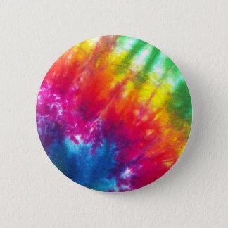 Rainbow Tie-Dye 6 Cm Round Badge
