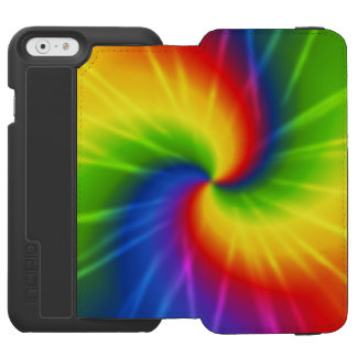 Rainbow Tie-Dye Incipio Watson™ iPhone 6 Wallet Case
