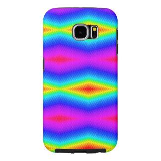 Rainbow tie-dye samsung galaxy s6 cases