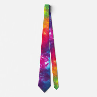 Rainbow Tie-Dye Tie
