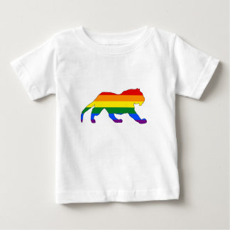 Rainbow Tiger Baby T-Shirt