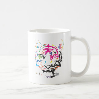 Rainbow Tiger Classic White Coffee Mug
