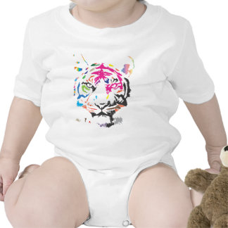 Rainbow Tiger Rompers