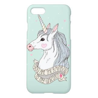 Rainbow to my Unicorn iPhone 7 Case