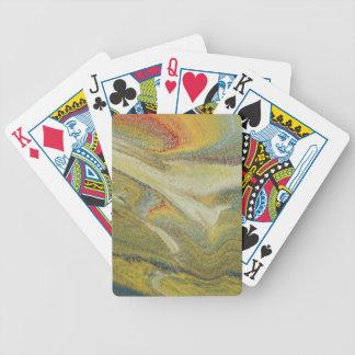 Rainbow Tornado Bicycle Playing Cards