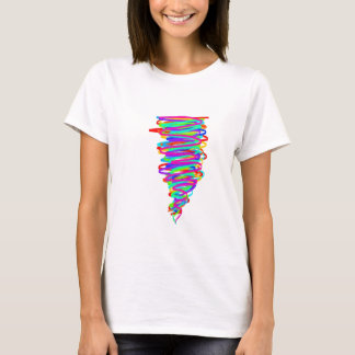 Rainbow Tornado t-shirt