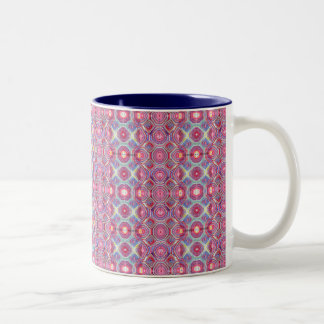 Rainbow Tortoise 11 oz Two-Tone Mug